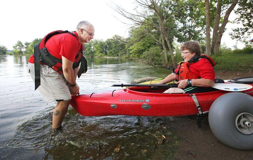 2015 kayaking big tires